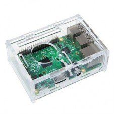Enclosure for Raspberry Pi Model B+ (transparent)